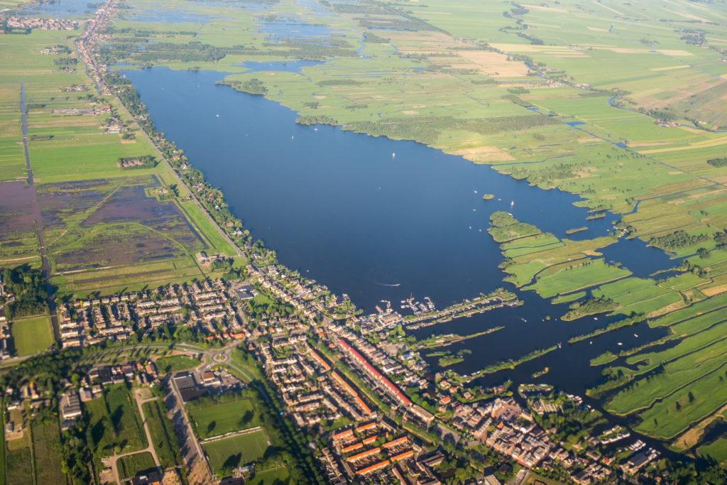 Aerial Amsterdam